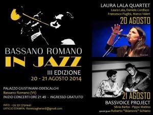 BASSANO ROMANO IN JAZZ